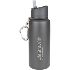 LifeStraw Go Stainless Steel Water Filter Bottle 710ml, gris